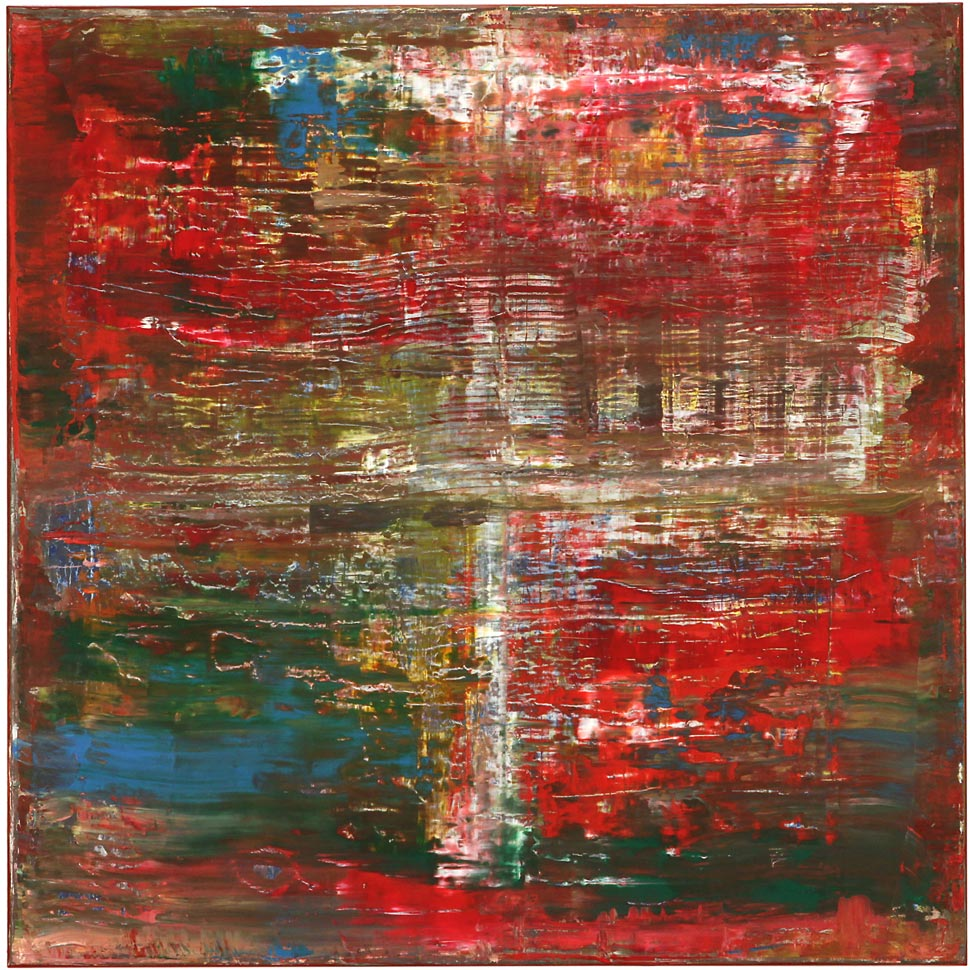 """Best of the Rest"", 2014, 100 x 100 cm, Acryl, Leinwand auf Keilrahmen"