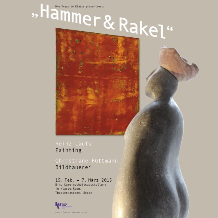 """Plakat """"Hammer & Rakel"""""""