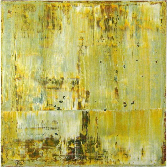 """Dürres Land"", 2015, 80 x 80 cm, Acryl, Leinwand auf Keilrahmen (47)"